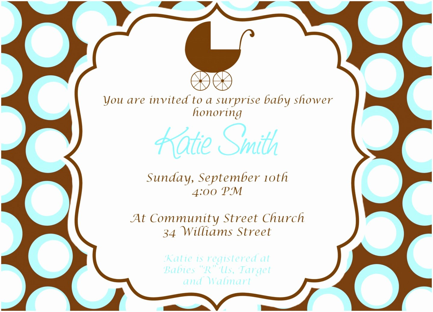 Baby Shower Template Word New 7 Baby Shower Flyer Template Word Uowiu