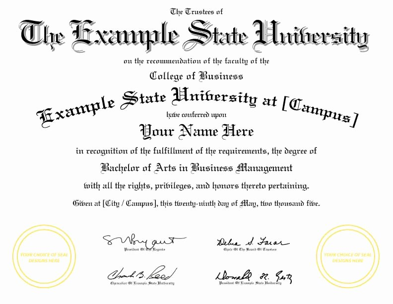 Bachelor Degree Template Free Beautiful Buy A Fake College Diploma Line