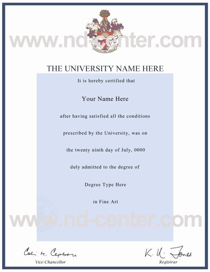 Bachelor Degree Template Free Beautiful College Degree Certificate Templates Templates Resume