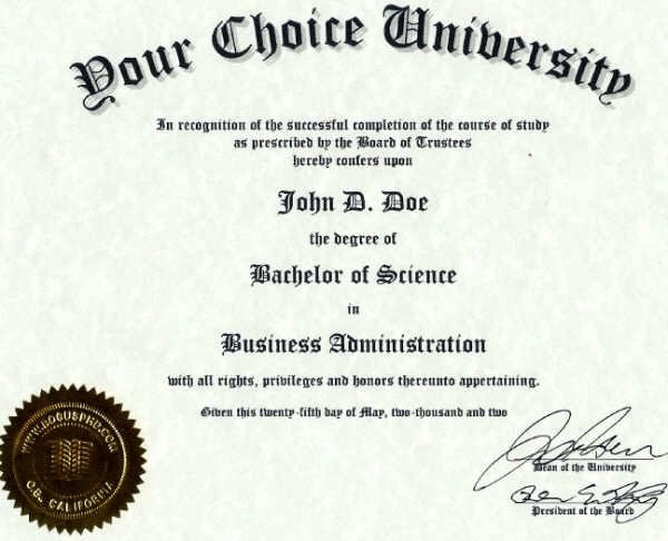 Bachelor Degree Template Free Best Of Can You An Accredited Bachelor S Degree Quora
