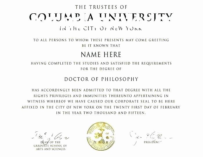 Bachelor Degree Template Free Elegant Certificate Template Free Lovely Image University