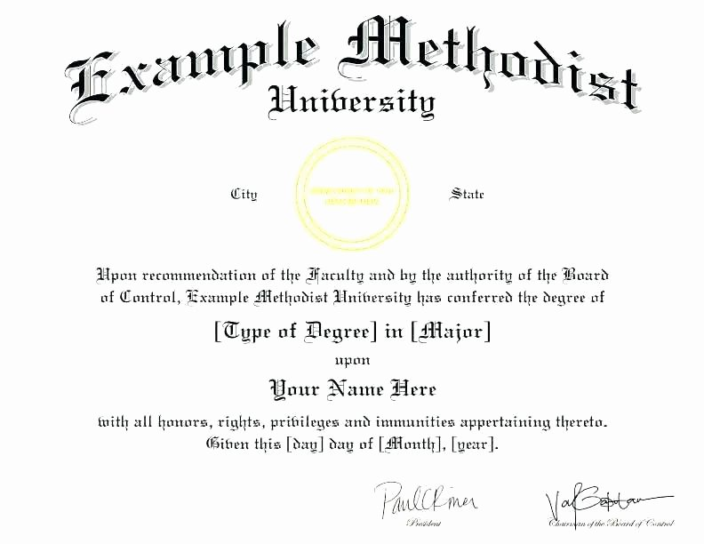 Bachelor Degree Template Free Fresh the Best Collection Diploma Templates for Every Purpose