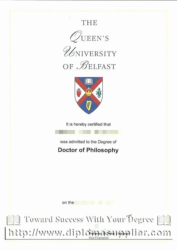 Bachelor Degree Template Free Inspirational Honorary Degree Certificate Template Bachelor Free Monster
