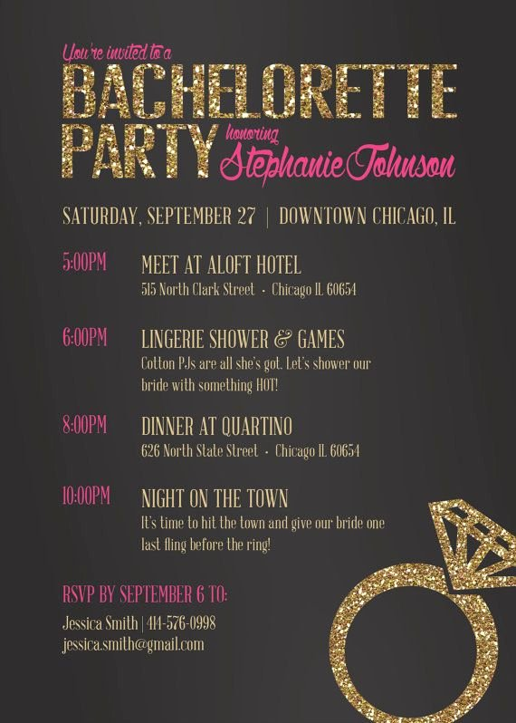 Bachelor Party Invitation Template Beautiful Bachelorette Invitation Bachelorette Party Invite Drink