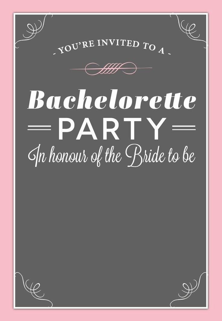 Bachelor Party Invitation Template Elegant 18 Best Free Bachelorette Party Invites Images On