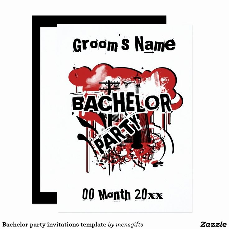 Bachelor Party Invitation Template Luxury 25 Best Ideas About Bachelor Party Invitations On