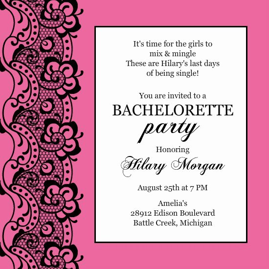 Bachelor Party Invite Template Elegant Bachelor Party Invitation Printable Templates
