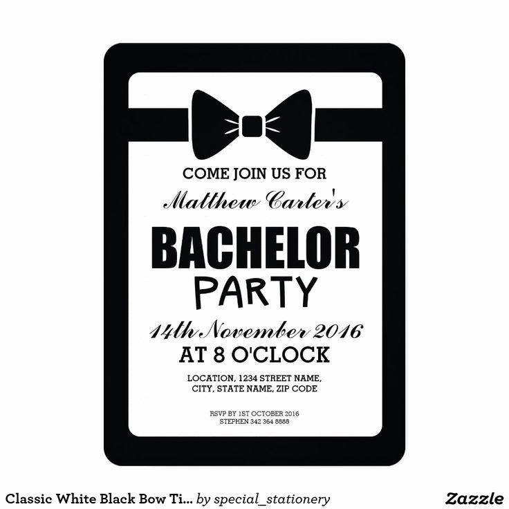 Bachelor Party Invite Template Lovely Bachelor Party Invitations Bachelor Party Invitations by