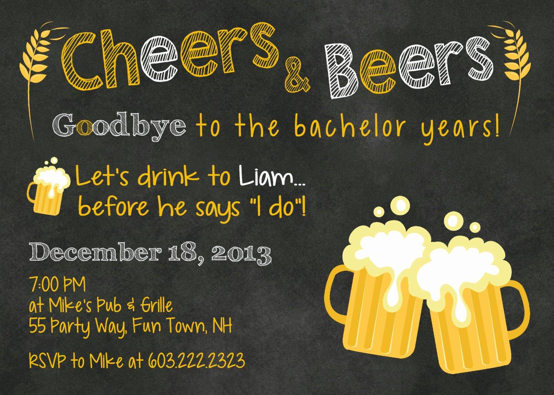 Bachelor Party Invite Template Unique Bachelor Party Invites Bachelor Party Invites Using An