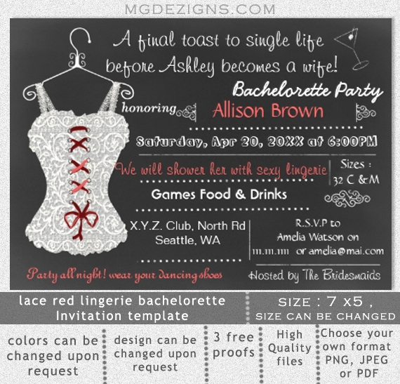 Bachelor Party Invites Template Awesome Bachelorette Invitations Templates – orderecigsjuicefo