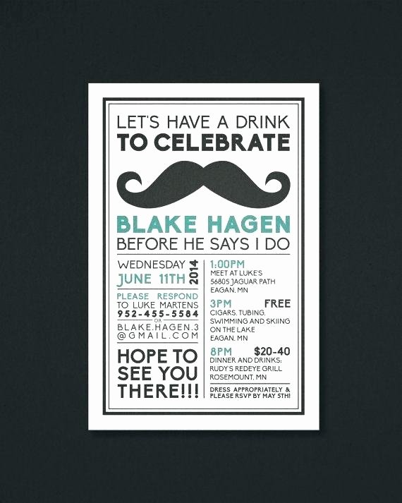Bachelor Party Invites Template Lovely Bachelor Party Invitation Wording – Kinnisvarao