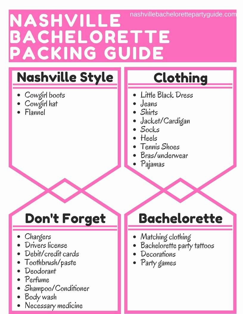 Bachelorette Itinerary Template Free Best Of Best Bachelorette Itinerary Template Free