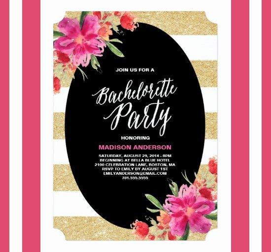 Bachelorette Party Invite Template Fresh 41 Bachelorette Invitation Templates Psd Ai