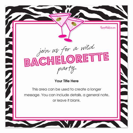 Bachelorette Party Invite Template Fresh Bachelorette Party Invitations Templates