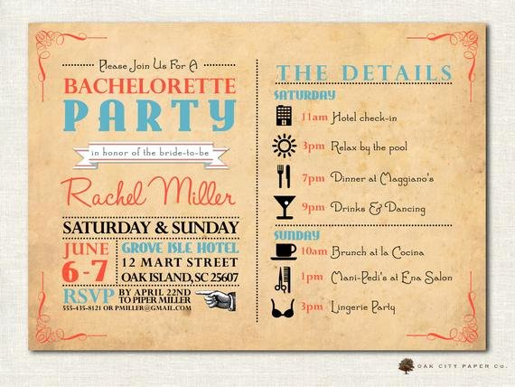 Bachelorette Party Invite Template Lovely Bachelorette Invitation Bachelorette Party Invitation