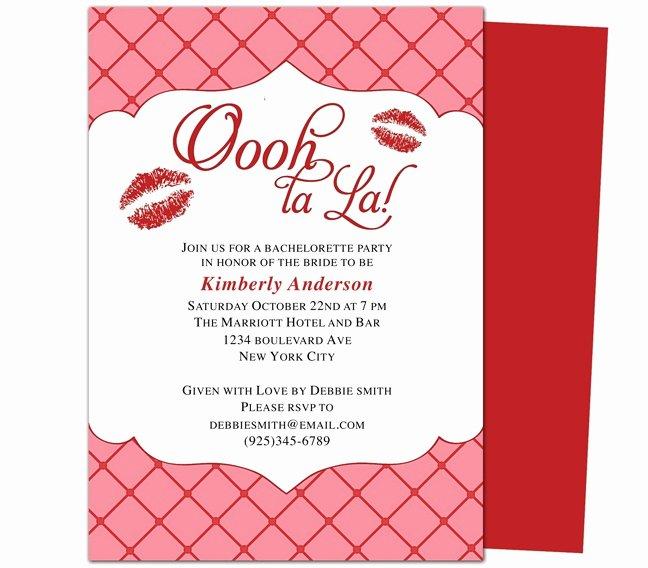 Bachelorette Party Invite Template New Printable Bachelorette Invitations Party Templates