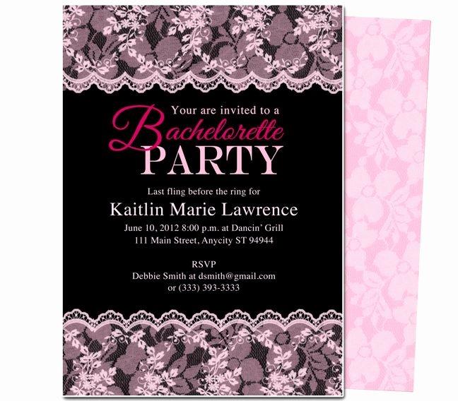 Bachelorette Party Invite Template New Printable Diy Bachelorette Party Invitations Boudoir