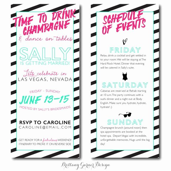 Bachelorette Party Itinerary Template Best Of Neon Quotes for Bachelorette Parties Quotesgram