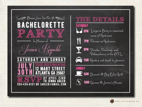 Bachelorette Party Itinerary Template Fresh 301 Moved Permanently