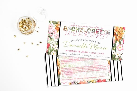 Bachelorette Weekend Itinerary Template New Printable Beach Wedding Invitations Templates