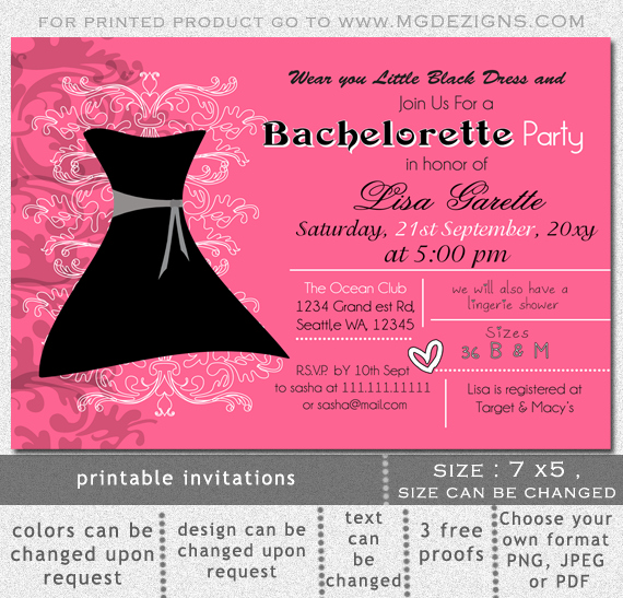 Bachelors Party Invitation Template Beautiful Bachelor Party Invite Template