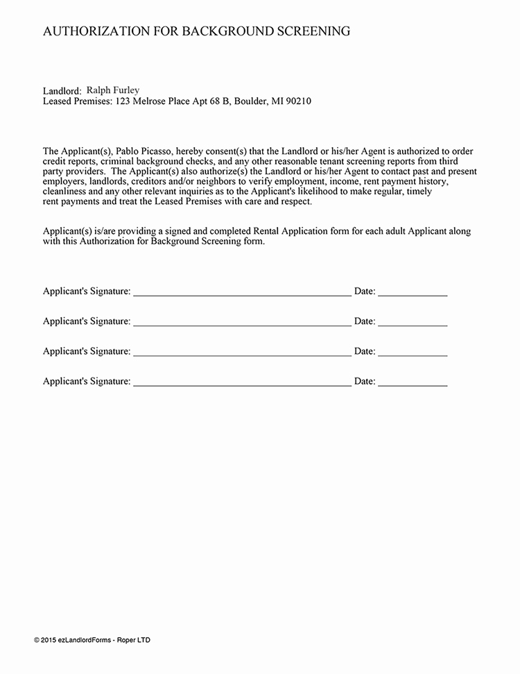 Background Check form Template Best Of Background Check Consent form Template Alfonsovacca
