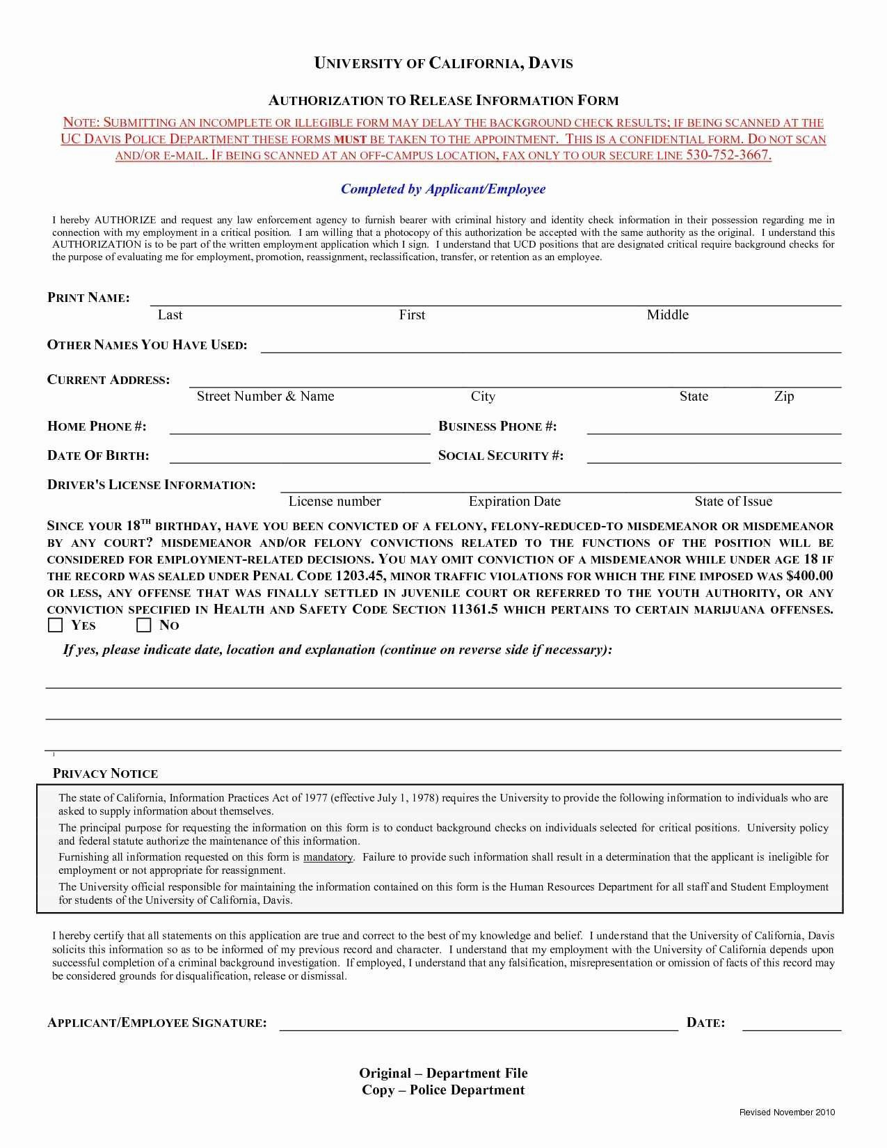 Background Check form Template Fresh Luxury Background Check Release form Template Free