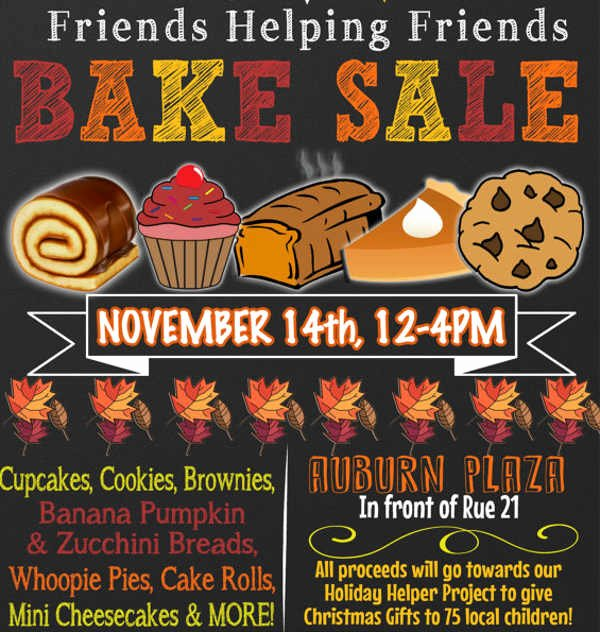 sample bake sale flyer