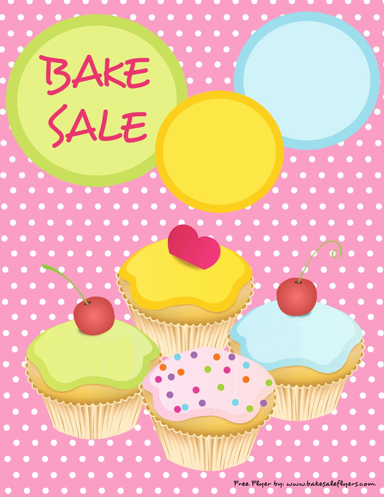 Bake Sale Flyer Template Beautiful Bake Sale Flyers – Free Flyer Designs