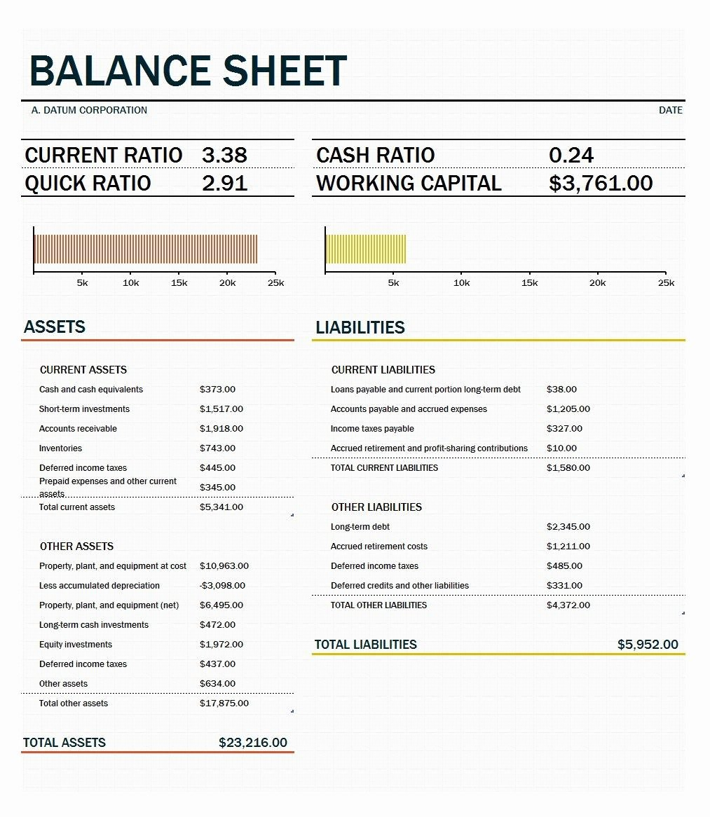 Balance Sheet Template Word Awesome 41 Free Balance Sheet Templates & Examples Free Template