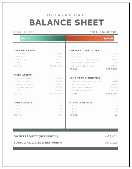 Balance Sheet Template Word Best Of 25 Luxury Balance Sheet Template Word
