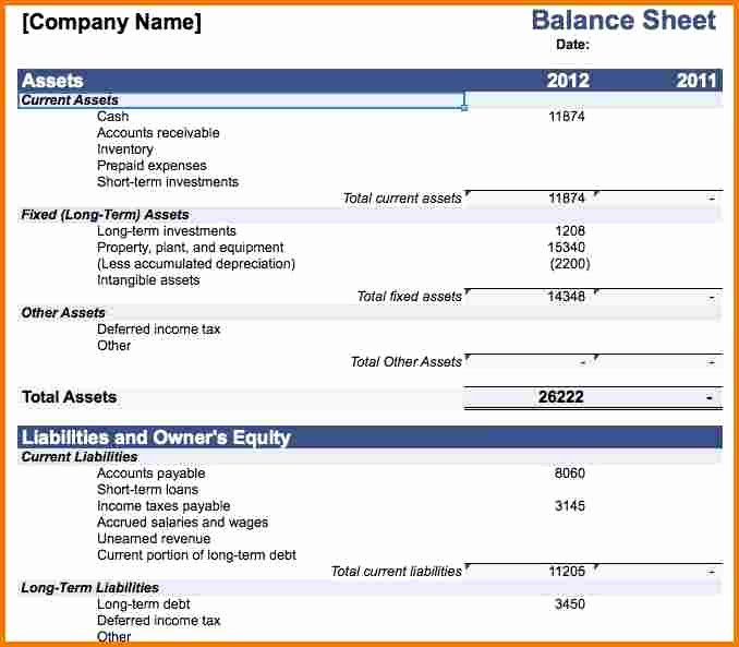 Balance Sheet Template Word Fresh Balance Sheet Microsoft Word Driverlayer Search Engine