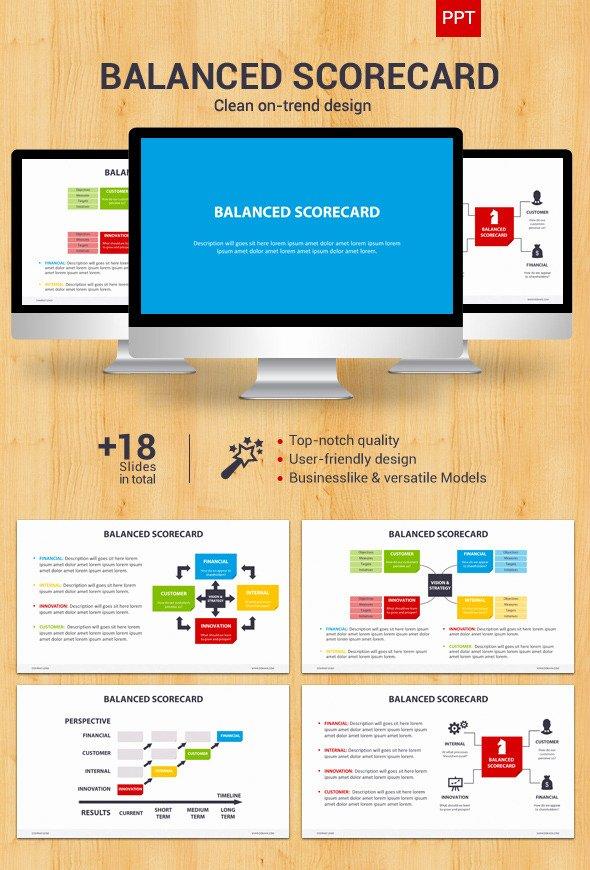 Balanced Scorecard Template Powerpoint Lovely Balanced Scorecard Powerpoint by Creapack