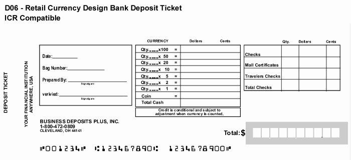 Bank Deposit Slip Template Best Of How to Fill Bank Deposit Slip – Easy Steps to Follow