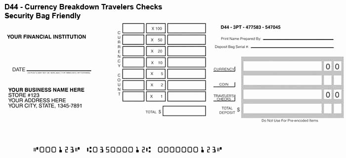 Bank Deposit Slip Template Elegant 4 Printable Bank Deposit Slip Template Excel – Template124