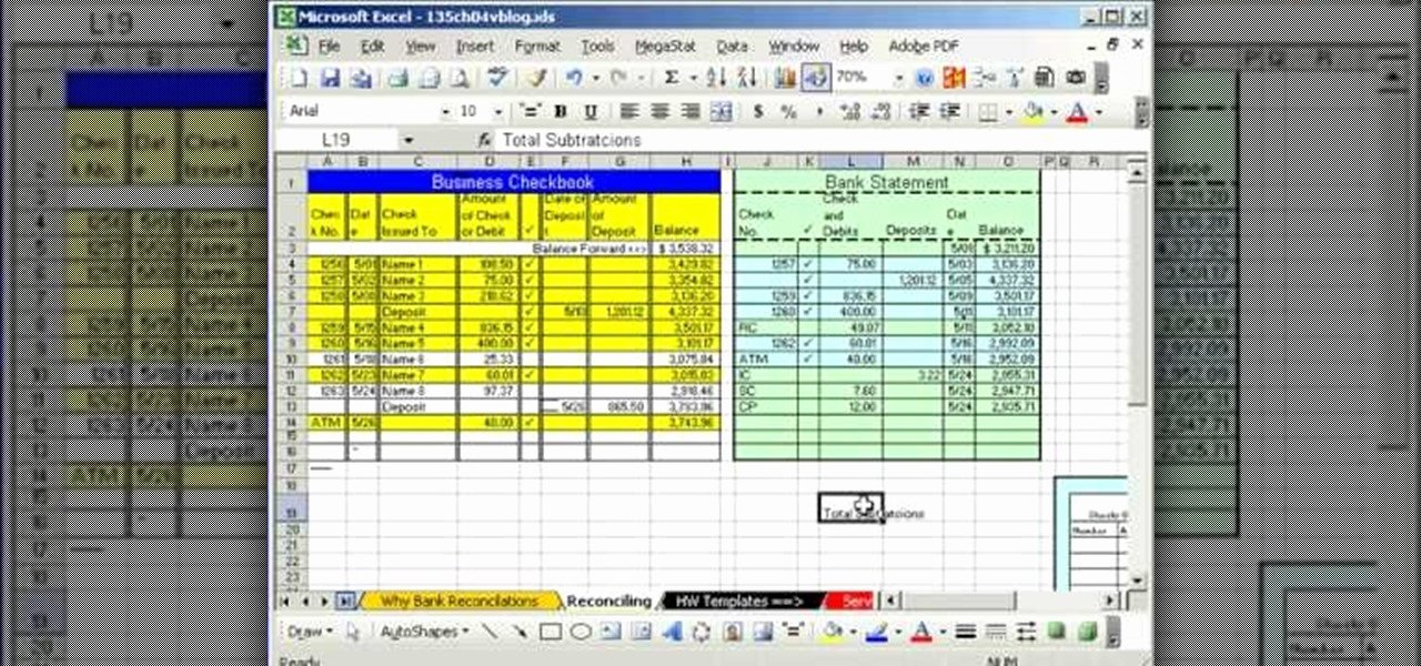 Bank Reconciliation Template Excel Fresh How to Do Bank Reconciliation In Microsoft Excel