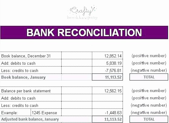 Bank Reconciliation Template Excel Luxury Business Bank Reconciliation Template – Flybymedia