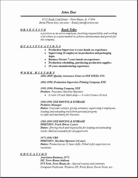 Bank Teller Resume Template Luxury Bank Teller Resume Examples Samples Free Edit with Word