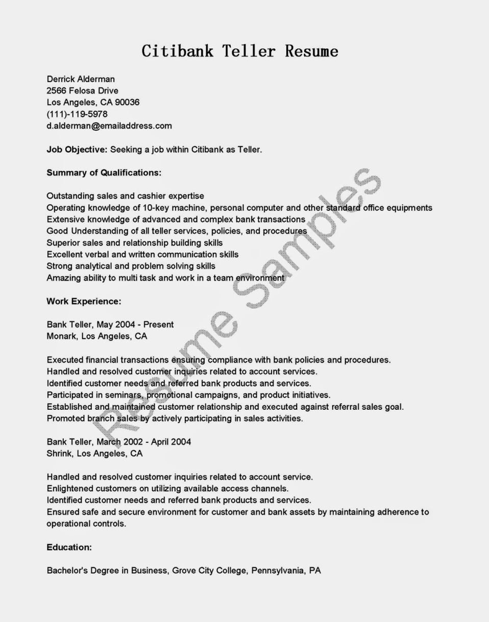 Bank Teller Resume Template Luxury Entry Level Bank Teller Resume Resume Template