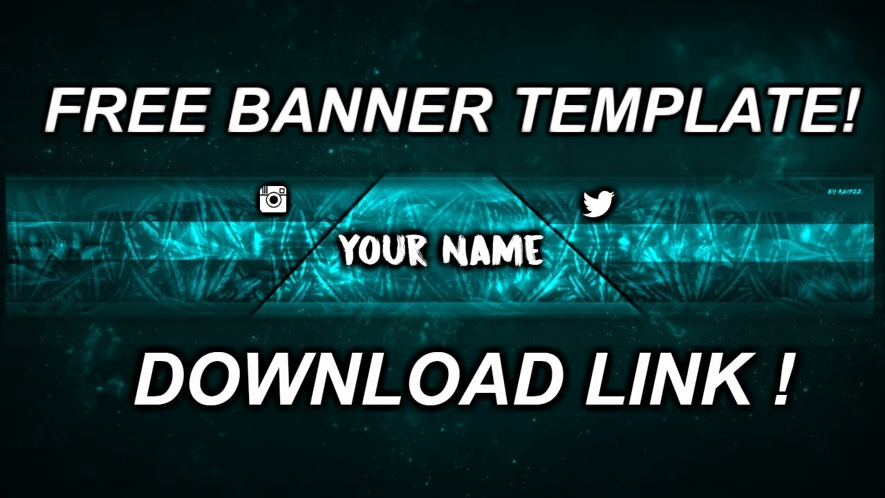 Banner Template No Text Awesome Youtube Banner Template No Text for Free [link In