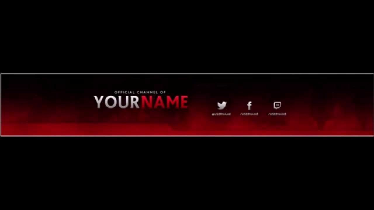 Banner Template No Text Inspirational Free Channel Rebrand Template Profile Pic Channel Banner