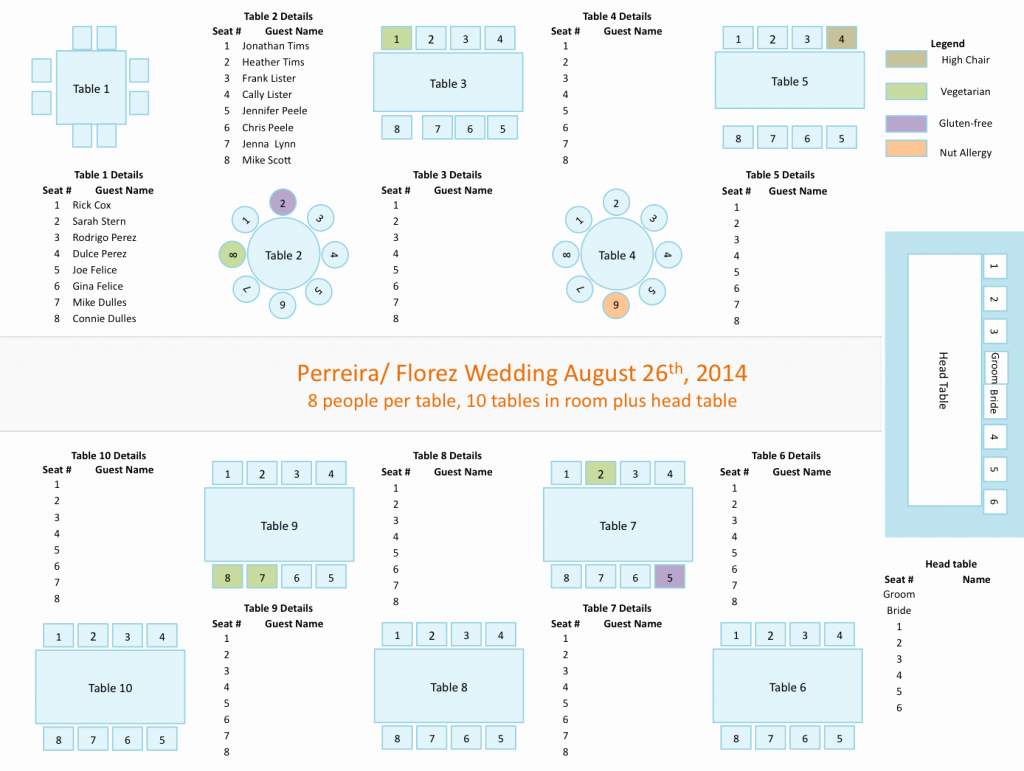 Banquet Seating Chart Template Fresh Seating Chart Template Template Trakore Document Templates