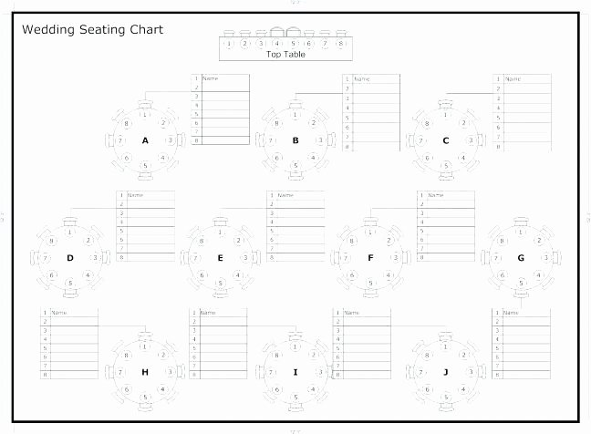 Banquet Seating Chart Template New Banquet Seating – Dollarstacker