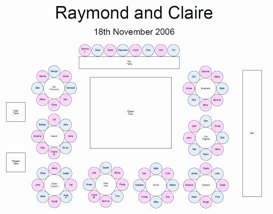 Banquet Seating Chart Template New Wedding Reception Seating Arrangement Chart Layout Charts