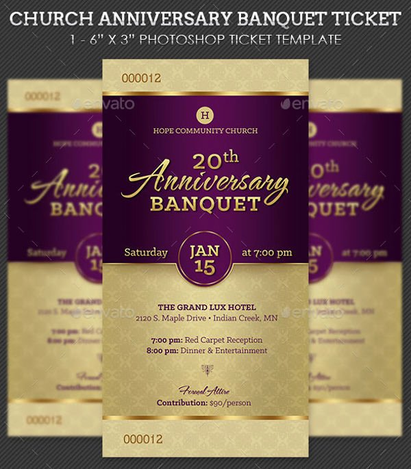 Banquet Tickets Template Free Beautiful 8 Banquet Ticket Templates Free Psd Ai Vector Eps