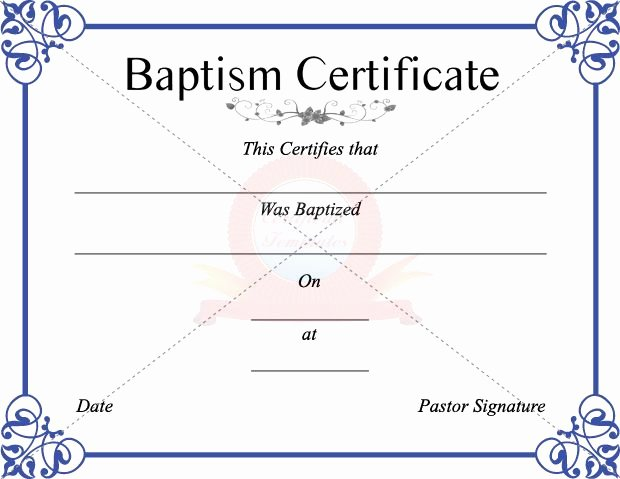 Baptism Certificate Template Word Best Of 17 Best Images About Christenings On Pinterest