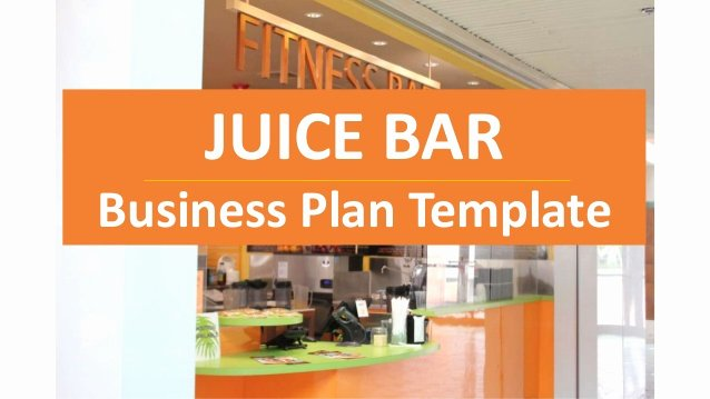 Bar Business Plan Template Elegant Juice Bar Business Plan Cold Pressed Juices and Others