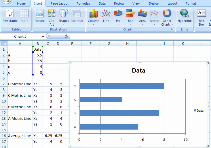 how to create 3d column chart in excel 2010