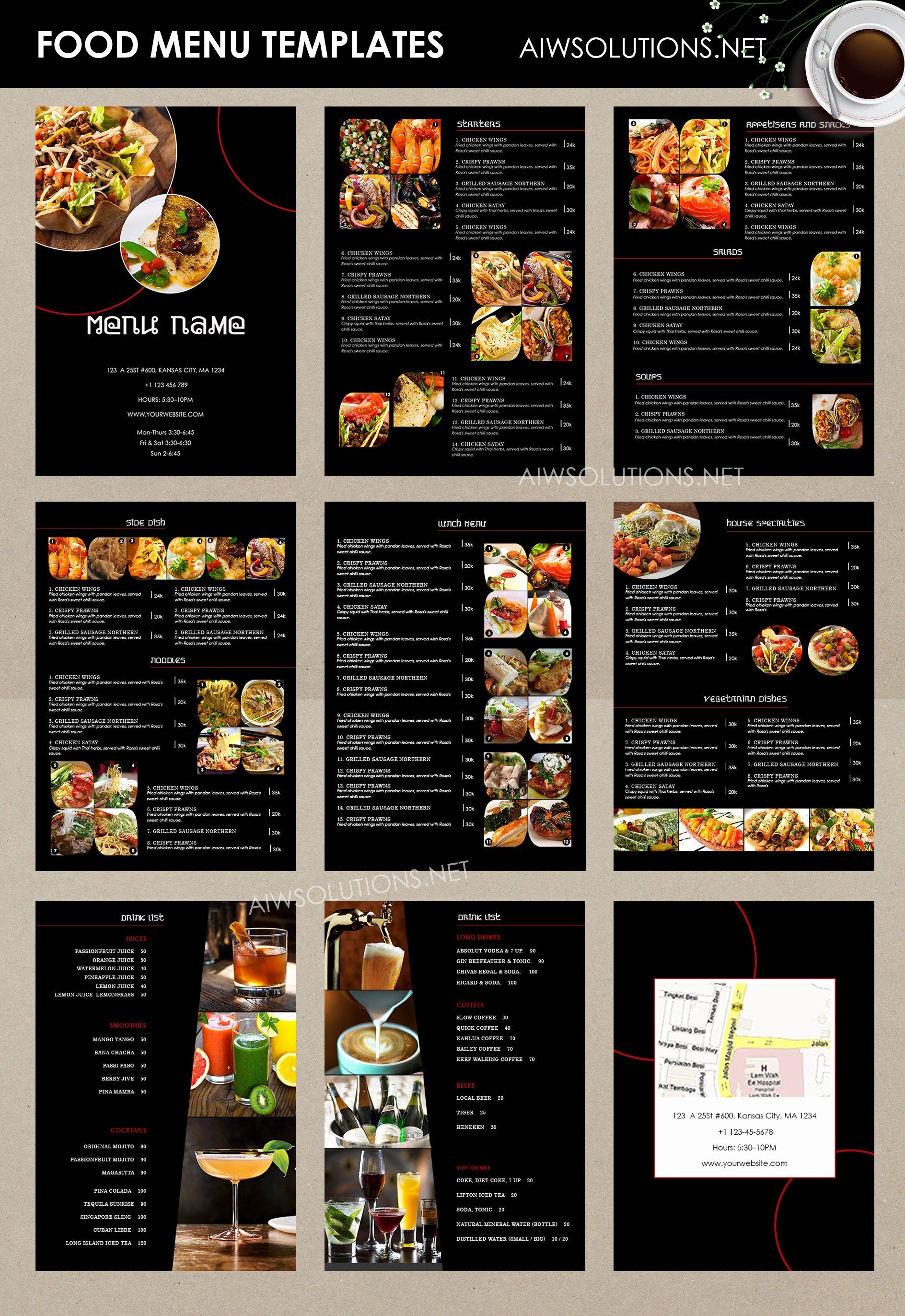 Bar Menu Template Free New Design & Templates Menu Templates Wedding Menu Food