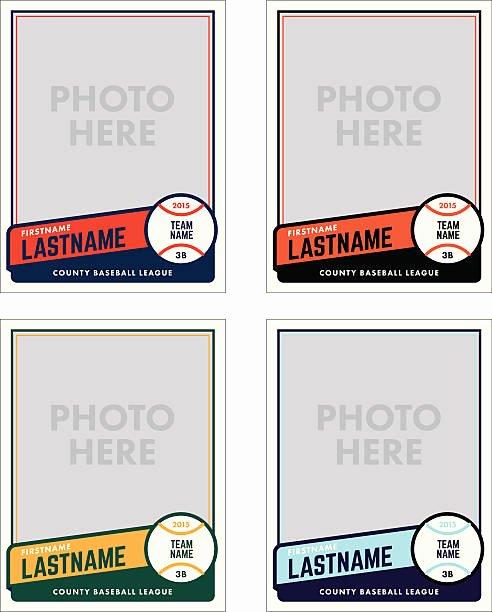 Baseball Card Template Free Awesome Royalty Free Baseball Clip Art Vector